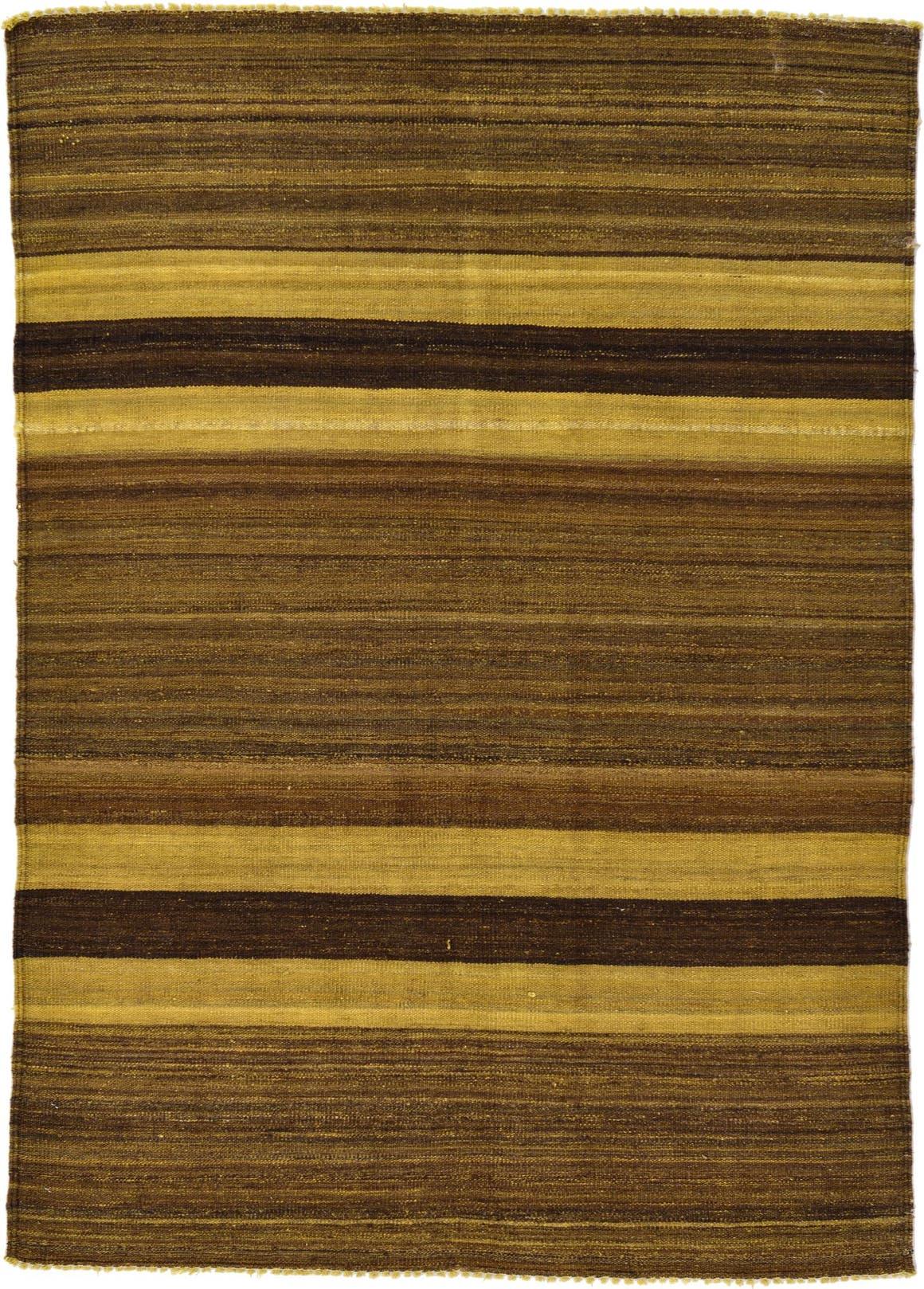 4' 2 x 5' 9 Kilim Afghan Rug main image