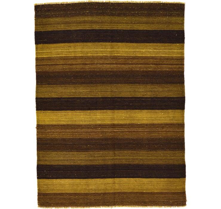 3' 5 x 4' 9 Kilim Afghan Rug