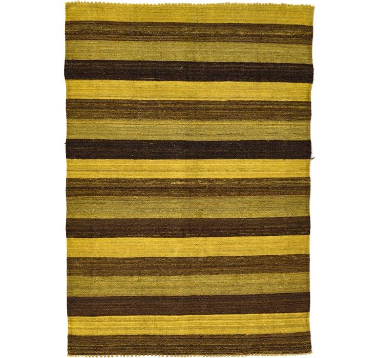 4' x 5' 9 Kilim Afghan Rug