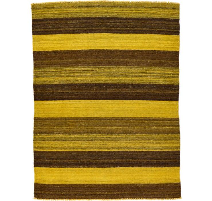 3' 6 x 4' 8 Kilim Afghan Rug
