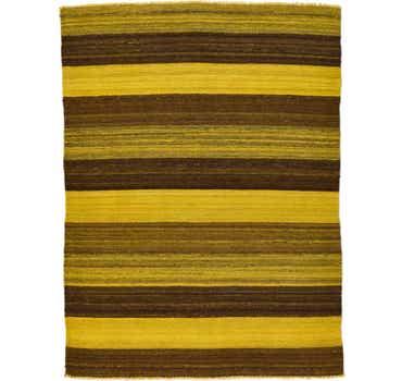 Image of 3' 6 x 4' 8 Kilim Afghan Rug