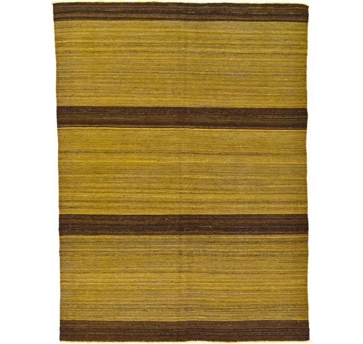 5' 6 x 7' 4 Kilim Afghan Rug