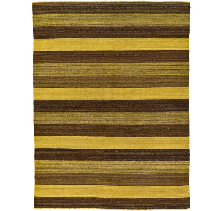 5' 1 x 6' 8 Kilim Afghan Rug