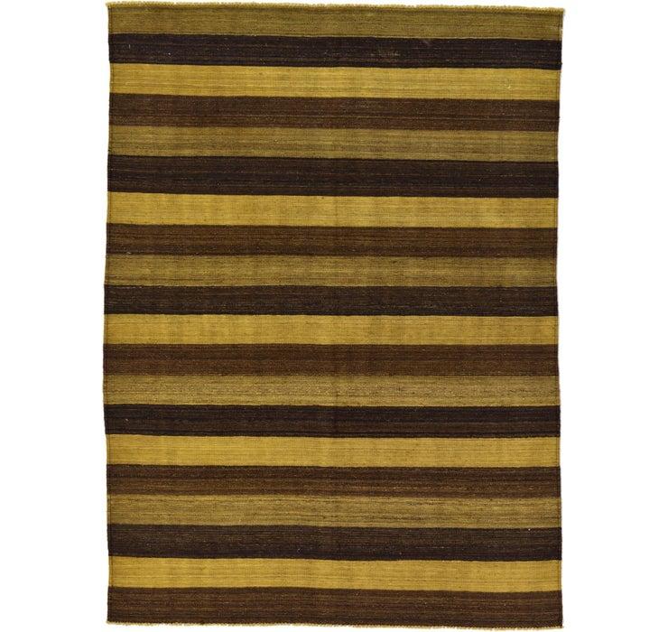 5' 2 x 6' 11 Kilim Afghan Rug