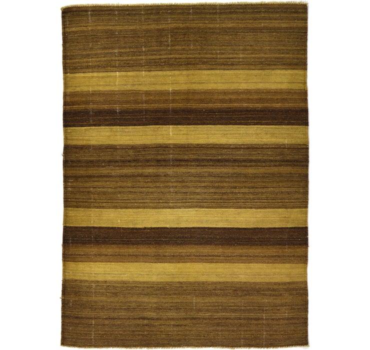 4' 1 x 5' 8 Kilim Afghan Rug