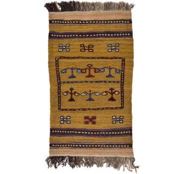 2' 5 x 4' 2 Kilim Afghan Rug main image