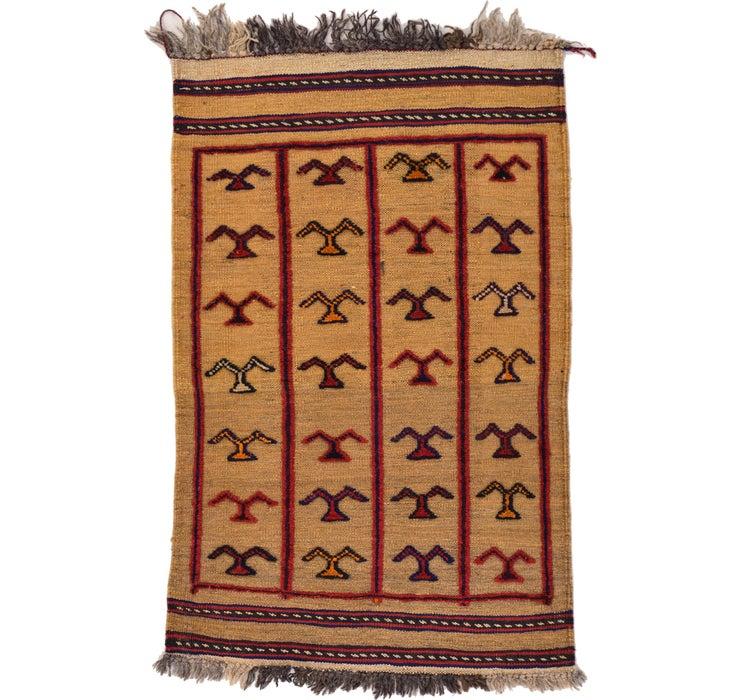 75cm x 115cm Kilim Afghan Rug