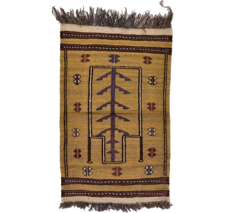 2' 5 x 3' 9 Kilim Afghan Rug
