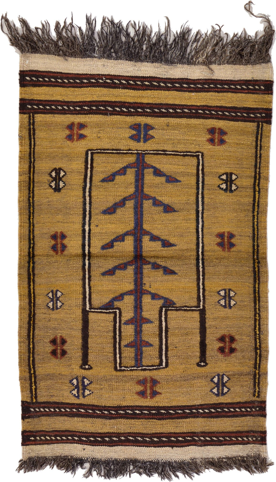 2' 5 x 3' 9 Kilim Afghan Rug main image