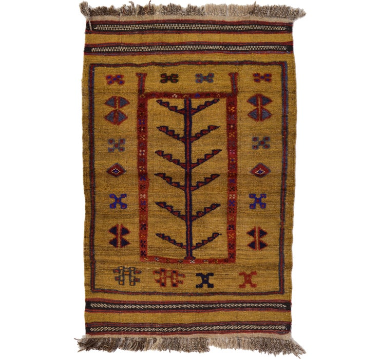 80cm x 122cm Kilim Afghan Rug