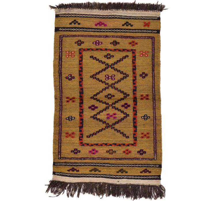 80cm x 132cm Kilim Afghan Rug