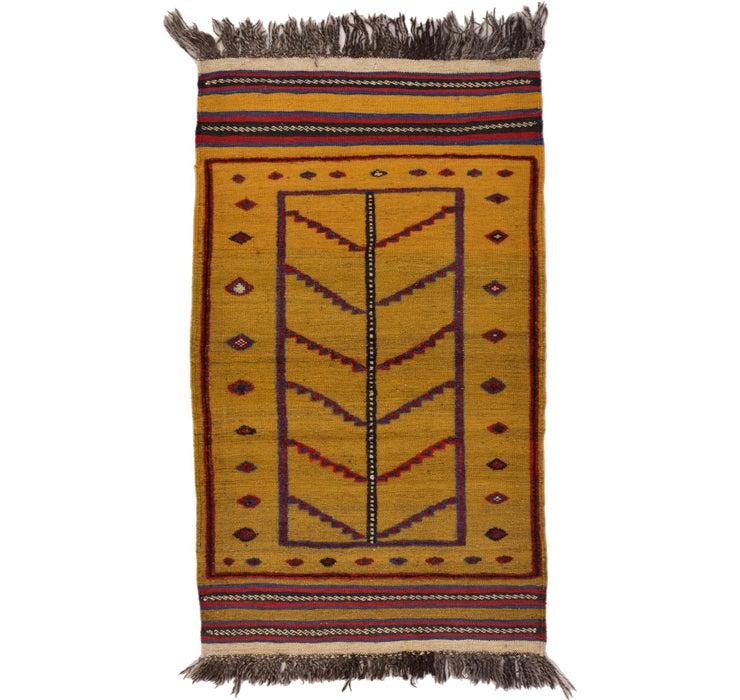 80cm x 135cm Kilim Afghan Rug