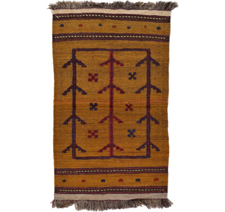 2' 4 x 3' 11 Kilim Afghan Rug