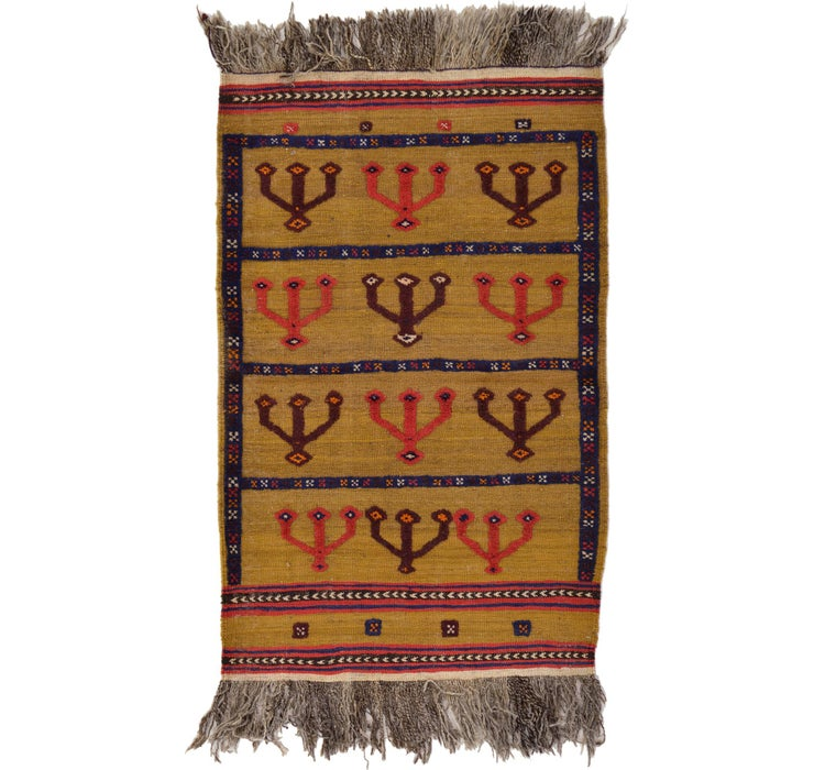 80cm x 130cm Kilim Afghan Rug