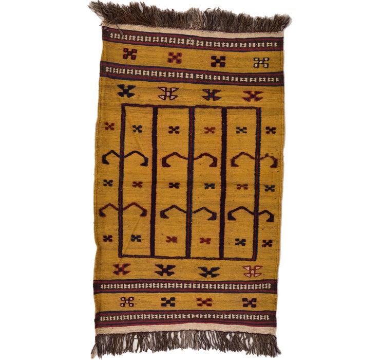 85cm x 135cm Kilim Afghan Rug