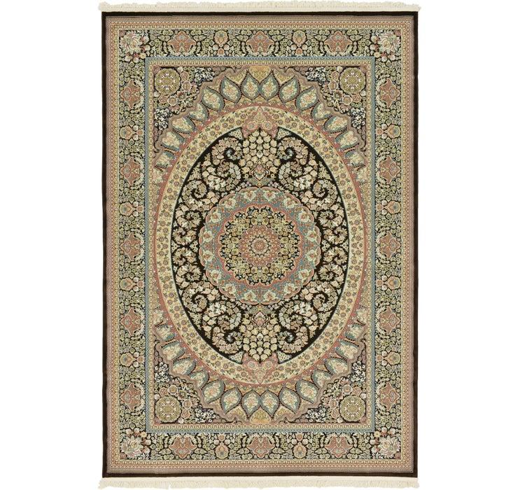 7' 2 x 10' 7 Mashad Design Rug