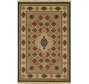 6' 7 x 10' Kerman Design Rug