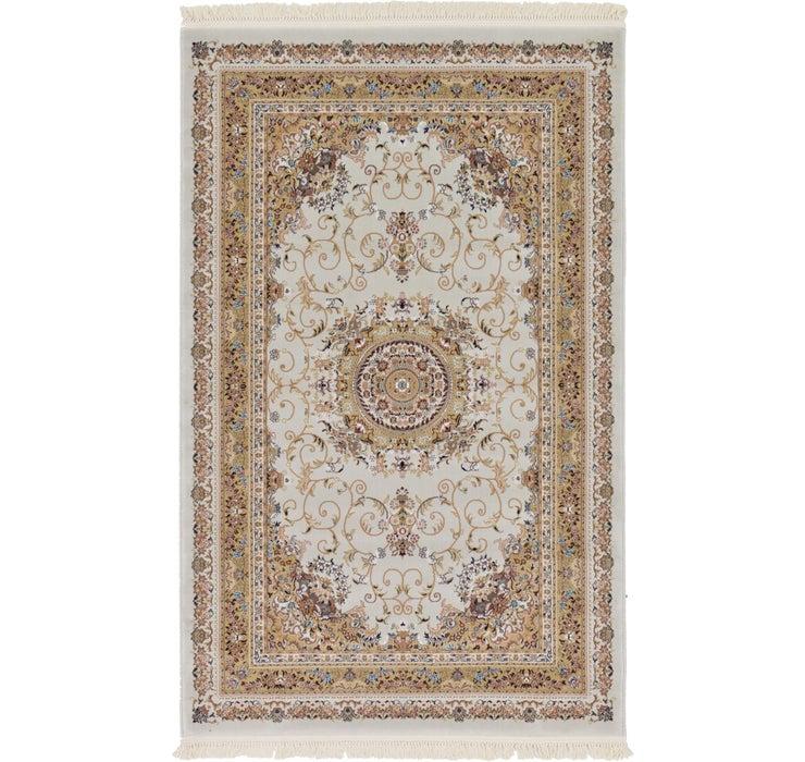 5' x 7' 9 Isfahan Design Rug