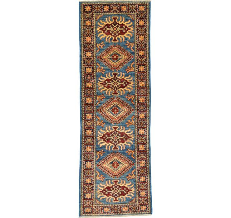 58cm x 175cm Kazak Oriental Runner Rug