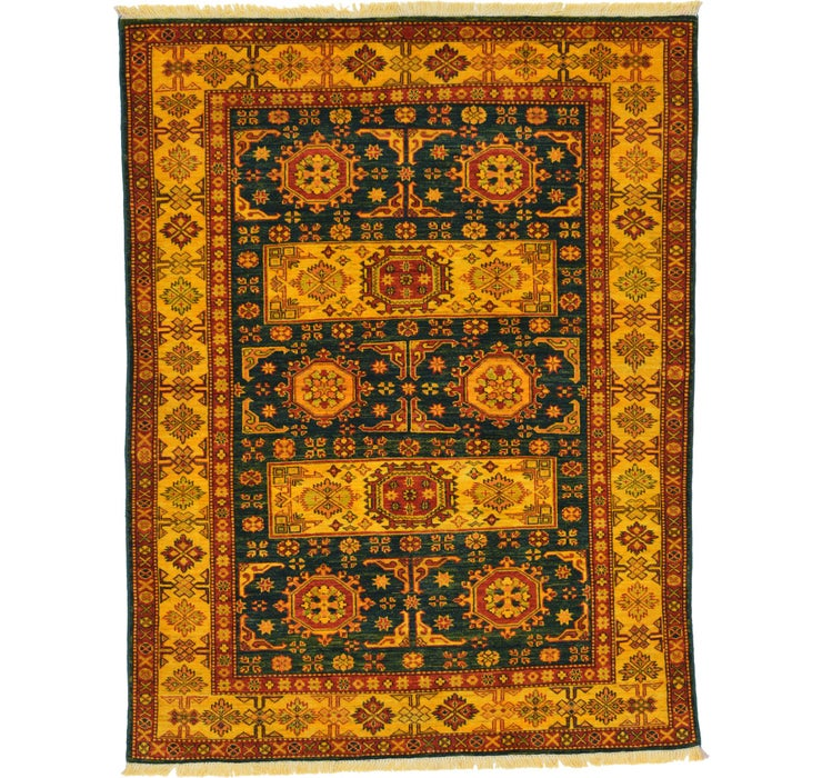 4' 9 x 6' 3 Kazak Oriental Rug