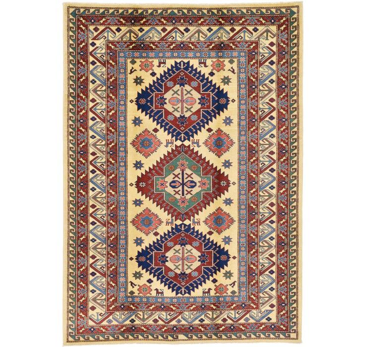 155cm x 218cm Kazak Oriental Rug