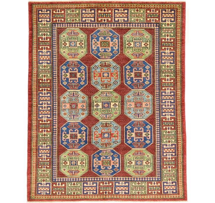 155cm x 195cm Kazak Oriental Rug