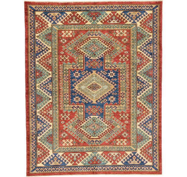 173cm x 218cm Kazak Oriental Rug