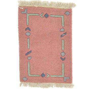 1' 4 x 1' 10 Indo Tibet Rug main image