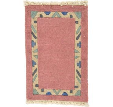 1' 3 x 1' 11 Indo Tibet Rug main image
