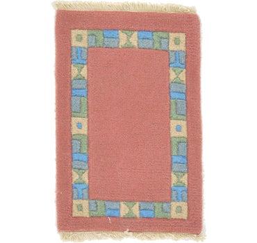 1' 4 x 2' Indo Tibet Rug main image