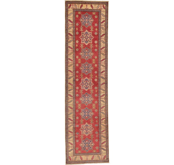 2' 10 x 10' 6 Kazak Oriental Runner Rug