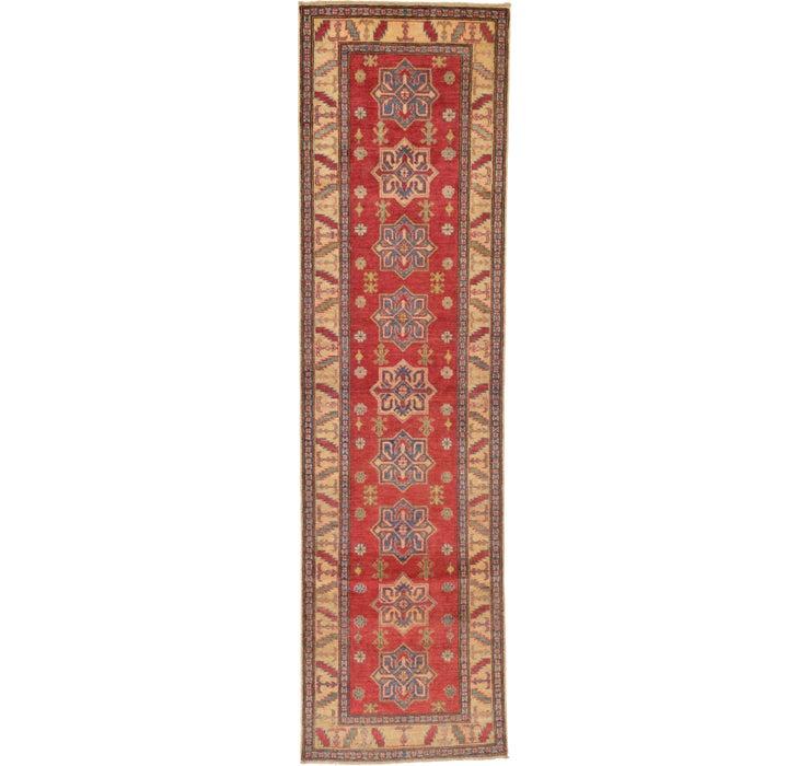 2' 11 x 10' 6 Kazak Oriental Runner Rug