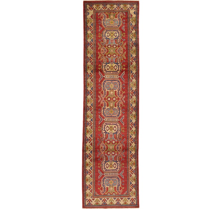 85cm x 307cm Kazak Oriental Runner Rug