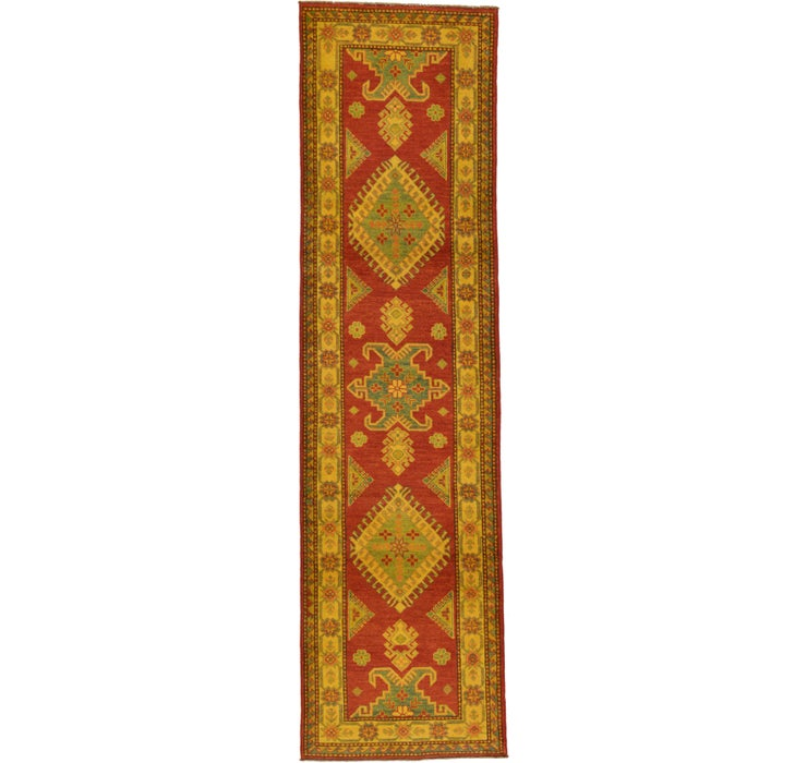 3' 6 x 9' 5 Kazak Oriental Runner Rug