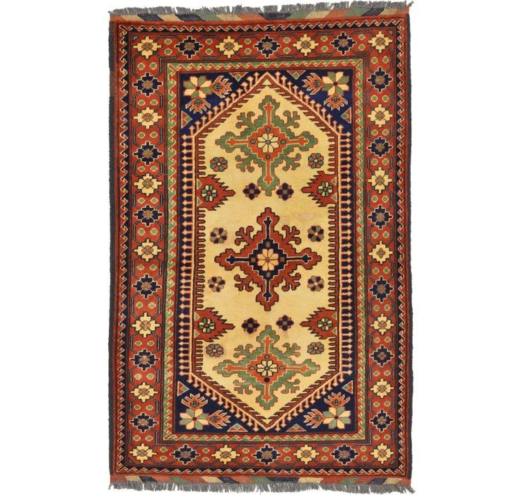 105cm x 155cm Kazak Oriental Rug