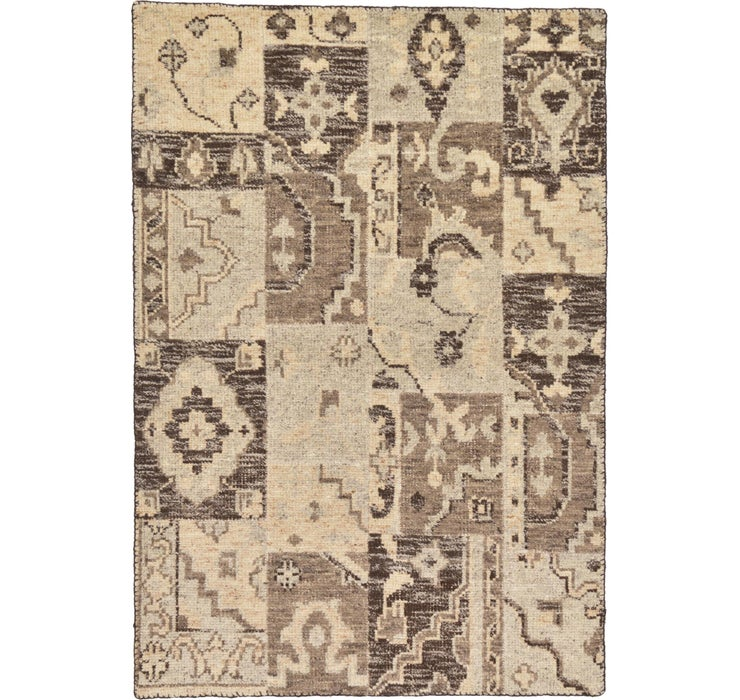 Image of 122cm x 175cm Patchwork Rug