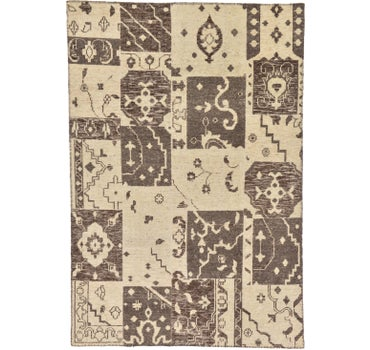 Image of 6' 7 x 9' 8 Patchwork Rug