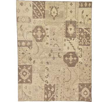 Image of 8' 5 x 11' 4 Patchwork Rug