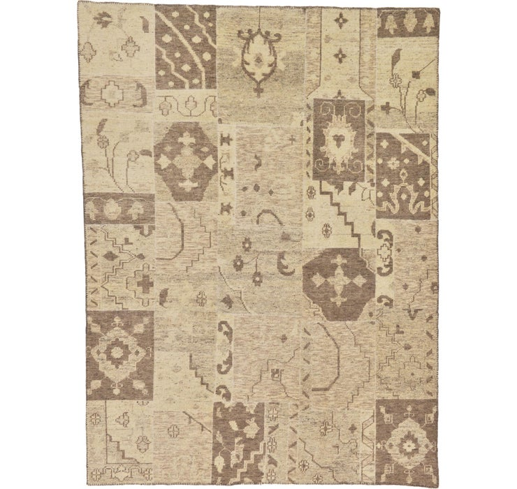 Image of 257cm x 345cm Patchwork Rug