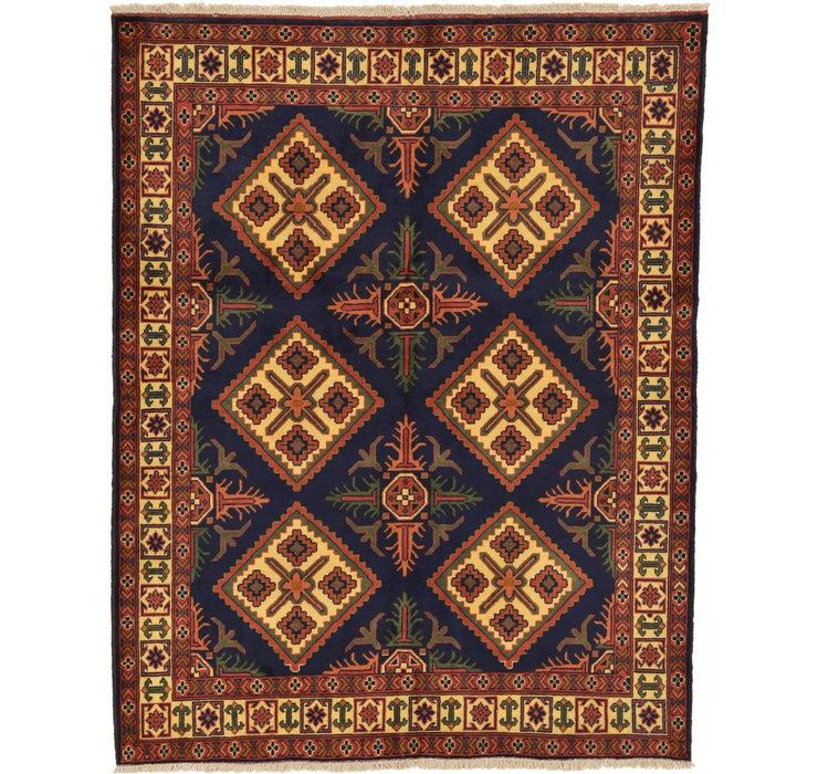 157cm x 200cm Kazak Oriental Rug