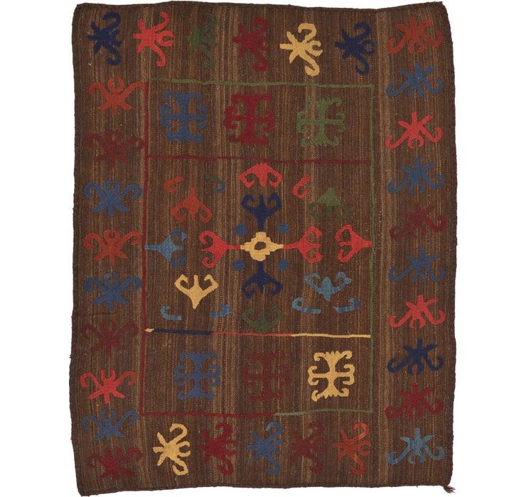 Image of 157cm x 200cm Kilim Suzani Rug