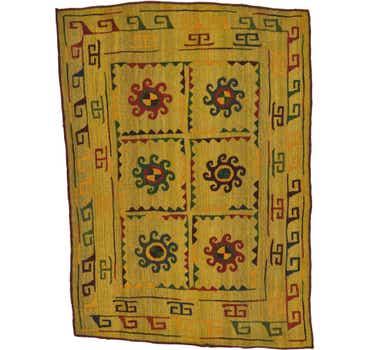 Image of  4' 7 x 6' 2 Kilim Suzani Rug