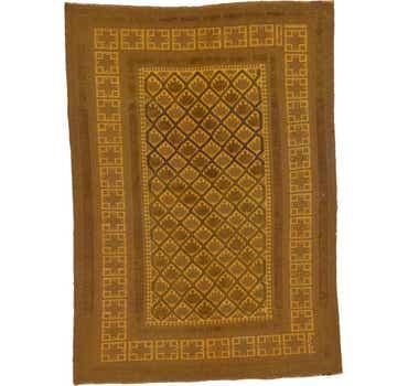 Image of  6' 4 x 9' Kilim Suzani Rug