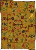 4' 9 x 6' 7 Kilim Suzani Rug thumbnail