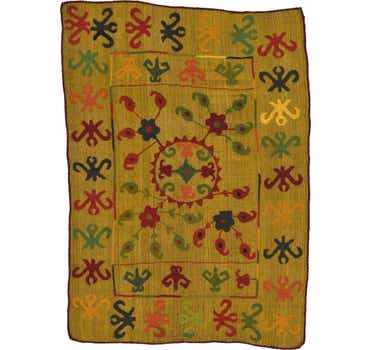 Image of 4' 9 x 6' 7 Kilim Suzani Rug