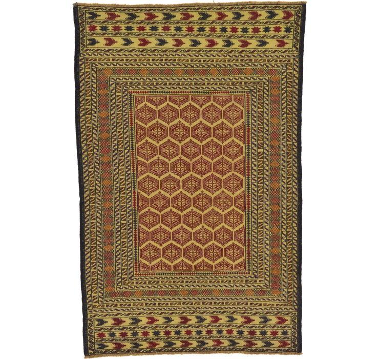 122cm x 193cm Kilim Afghan Rug