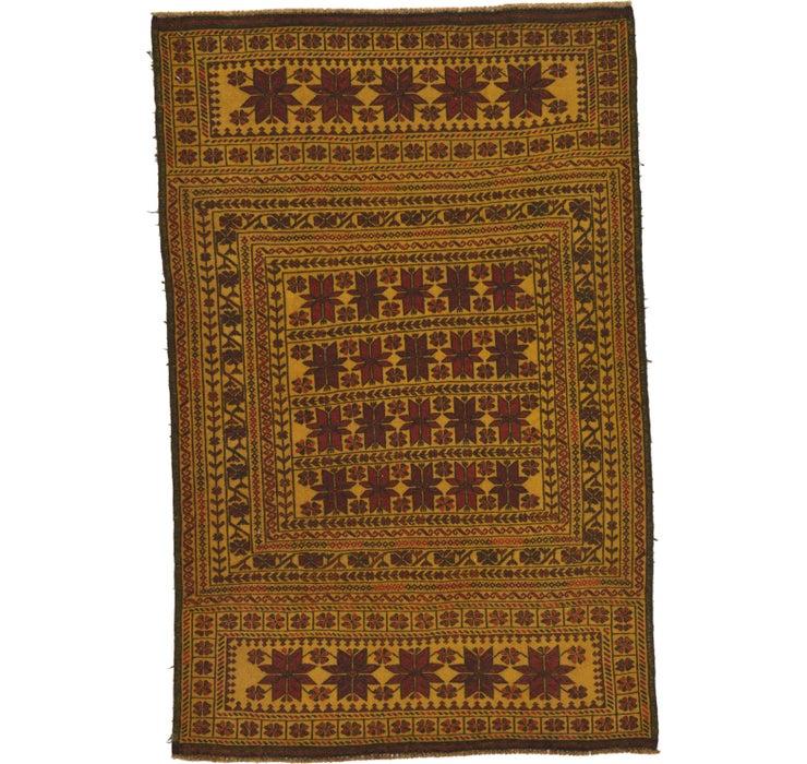 127cm x 193cm Kilim Afghan Rug