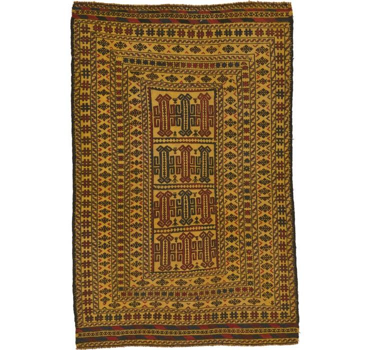 130cm x 193cm Kilim Afghan Rug