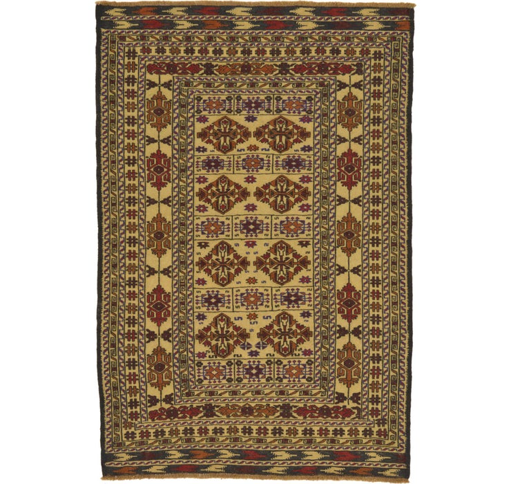 130cm x 190cm Kilim Afghan Rug