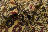 122cm x 195cm Kilim Afghan Rug thumbnail